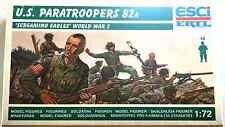 ESCI ERTL # 209 - 1/72 scale WWII U.S. Paratroopers 82A - mint boxed set