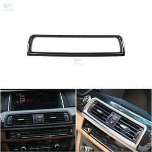 Carbon Fiber Inner Console Air Condition Vent Outlet Cover For BMW 5 series F10