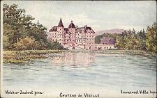Vizille Frankreich France ~1900 Château Schloss Palace Jaubert Vitte ungelaufen