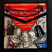 TAHOSA OA LODGE 383 DENVER AREA 2017 JAMBOREE MONTY PYTHON BRIDGE PASS 2-PATCH