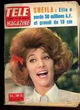SHEILA Full-Cover 1964 Tele Magazine 5 pages rare !!