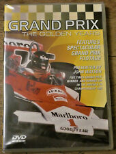 Grand Prix - The Golden Years   Presented by John Watson   New/Sealed
