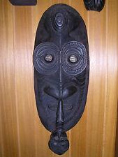 Ahnen Maske Ancestor Spirit Mask Sepik Kandangai Cowrie Papua Neuguinea 80 cm