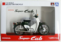 Aoshima Skynet 05658 Honda Super Cub 50 Green 1/12 Scale Finished Model