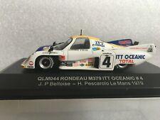 QUARTZO QLM044 Rondeau M379 ITT Oceanic #4 Beltoise- Pescarolo Le Mans 1979 1/43