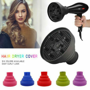 Foldable Hairdressing Silicone Curly Hair Blow Dryer Diffuser Salon Barber Tool