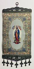 "Our Lady of Guadalupe, Christian Icon Tapestry Wall Decor, XL (~8""x11""), New"