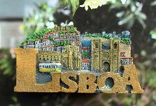Portugal Lisboa Lissabon Reiseandenken Souvenir 3D Kühlschrankmagnet Magnet