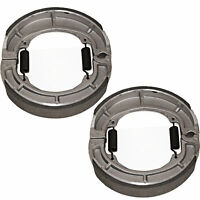 for Suzuki TS250 Savage 1971-1981 Front and Rear Brake Shoes