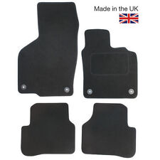 For Audi A8 MK3 LWB 2011-2017 Fully Tailored 4 Piece Car Mat Set with 8 Clips
