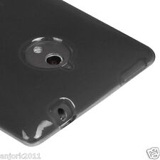 HTC 8XT Sprint PCS Soft TPU Gel Case Candy Cover Frosted Smoke