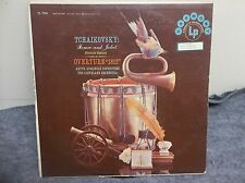 33 RPM Record LP-Tchaikovsky: Romeo & Juliet-Overture Fantasy & 1812-Harmony