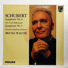 SCHUBERT symphonies no.5 & 8 - BRUNO WALTER - PHILIPS HL