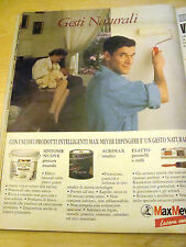 PUBBLICITA' ADVERTISING WERBUNG 1990 MAX MEYER VERNICI (G23)