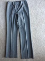 LAFAYETTE 148 Grey Wool Stretchy Slacks Trousers Dress Career Pants 4 Worn Once