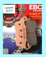 EBC FA636HH Sinterizado Pastillas De Freno Trasera Para Honda VFR VFR800 X Crossrunner 2015