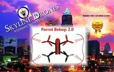 Parrot Bebop 2 Drone  Bumpers -  RED Propeller Guards RED