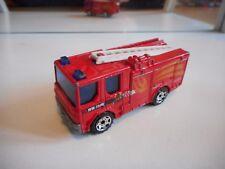 Matchbox Dennis Sabre Fire Truck in Red/Orange