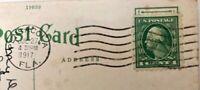 Rare George Washington 1 Cent Green US Postage Stamp