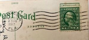 Rare George Washington 1 Cent Green US Postage Stamp
