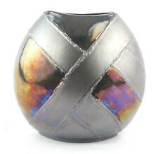 Poole Pottery Alchemy Pattern 20cm Purse Vase