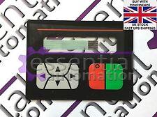 Beijer/MITSUBISHI MAC12/MAC10/MTA12/MTA10 NUOVO PANNELLO/Tastiera A Membrana