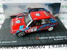 voiture 1/43 IXO Altaya Rallye ITALIE : LANCIA Delta integrale 16 V Martini 1989
