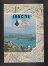 Postfrische Briefmarken aus der Türkei mit Post- & Kommunikations-Motiv