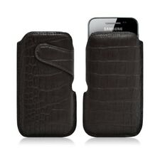 Housse coque étui pochette style croco pour Samsung Galaxy Ace S5830