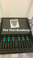 Wera Tools 05118158001 Precision Hexagon Nut Bit Holder Screwdriver Set 2-5mm