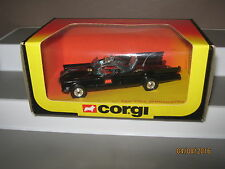 Corgi Batmobile 267 Gloss black Great screens orange head lights 1979/83 EX/cond
