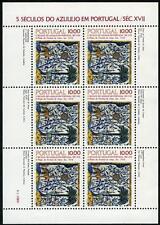 Portugal 1529a M/S, MI 1568 Klb, MNH. Antique Tile Designs, 1982