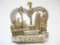 Berlin Siegessäule Dom Cologne 3D Poly Fridge Magnet Souvenir Germany