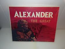 Alexander the Great 100% Complete Avalon Hill Wargame 1971 UNPUNCHED