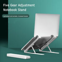 Adjustable Laptop Stand Cooling Desk Holder Riser for Notebook Tablet Protable