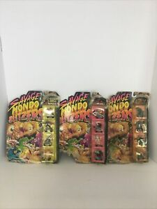 Vtg. Kenner 1991 Savage Mondo Blitzers Lot of 3 Packaged Sets Read