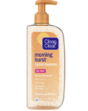 CLEAN & CLEAR Morning Burst Face Cleanser With Vitamin C Oil Free 8oz
