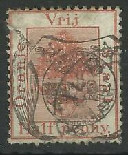 SOUTH AFRICA / ORANGE RIVER COLONY QV 1891 1/2d SHIELD OVERPRINT USED