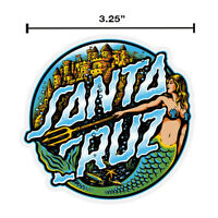 3 Inch Santa Cruz Mermaid Dot Skateboard Sticker Decal Screaming Hand Old School