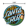 3 Inch Santa Cruz Mermaid Dot Skateboard Sticker Decal Screaming Hand Old School