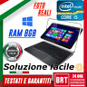 *PC NOTEBOOK DELL ULTRABOOK XPS 12 9Q33 CPU i7-4 8GB RAM TABLET TOUCH SCREEN TOP