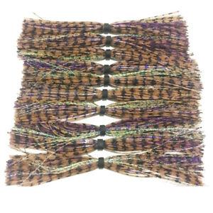 10pc stardand Silicone Skirt For SpinnerBait jig Skirt Banded Fishing Skirts 010