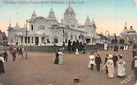 R268878 Canadian Pavilion. Franco British Exhibition. London. 1908. Valentines S