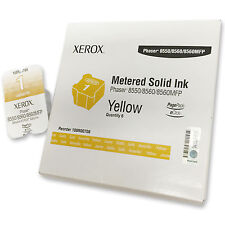 Xerox colorqube 108r00708 Yellow amarillo Phaser 8550 8560 8560 MFP inhalation Solid Ink