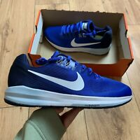 Nike Men's Air Zoom Structure 21 Trainers Size UK 7.5 EUR 42 Blue 904695 402