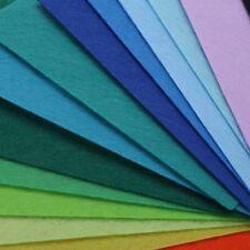 40 Stk Set 100x150mm Filz Meterware Bastelfilz Stoff basteln Farbenfroh Farben