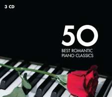 Artistes Divers - 50 Best Romantic Piano Classique Neuf CD