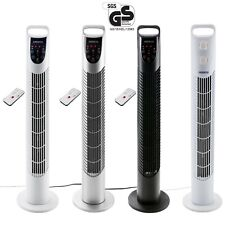 Turmventilator 40W Standventilator Säulenventilator Ventilator Fernbedienung