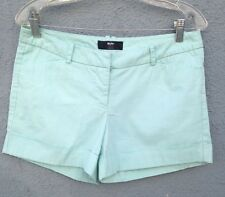 MOSSIMO LIGHT BLUE BOYFRIEND SHORTS FOLDED SIZE 8 PRE-OWNED