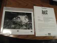 Dreamworks Antz Movie Press Kit Sheet w/ 1 Photo Still - 1998
